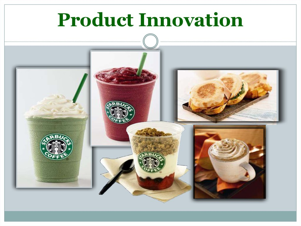 starbucks innovation Starbucks has long prided itself on being innovative and cutting-edge their  approach to marketing has been an integral part of their success.
