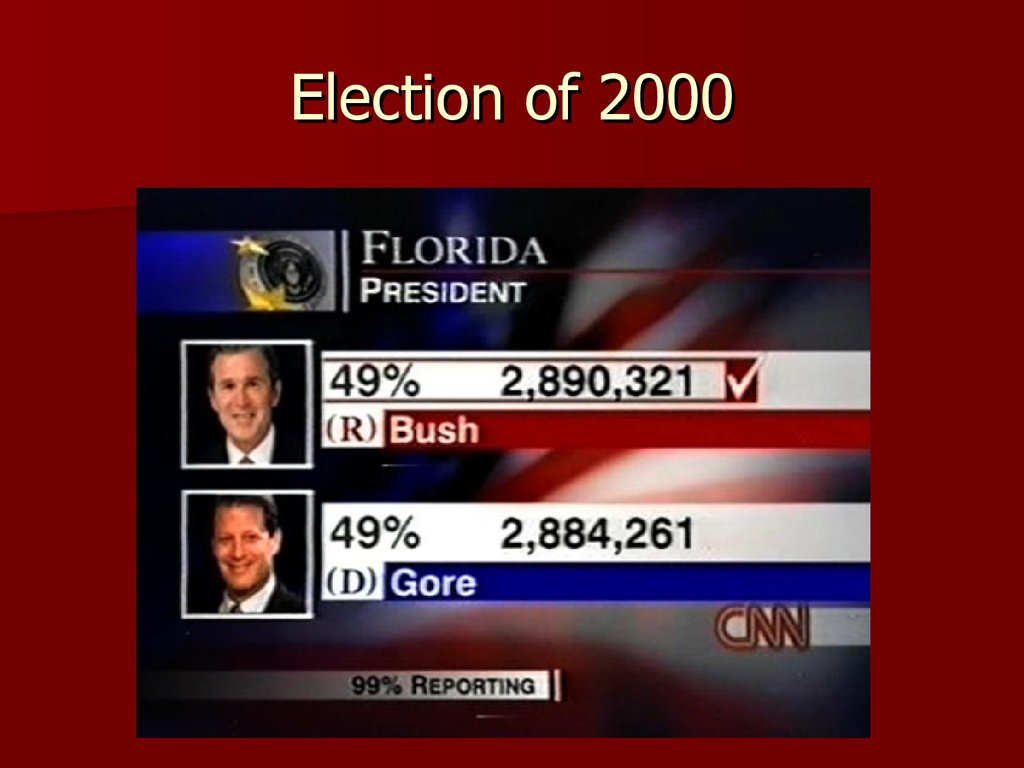 an analysis of the two main candidates for the election of 2000 United states presidential election in new hampshire, 2000  2000 the two major candidates were texas governor george w bush.