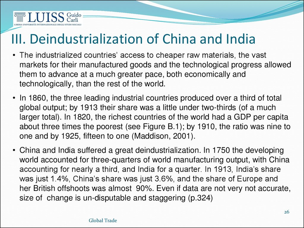 indias deindustrialization The ensuing deindustrialization was greatest c1750–c1860 we ask how much of  india's deindustrialization was due to local supply-side forces—such as.