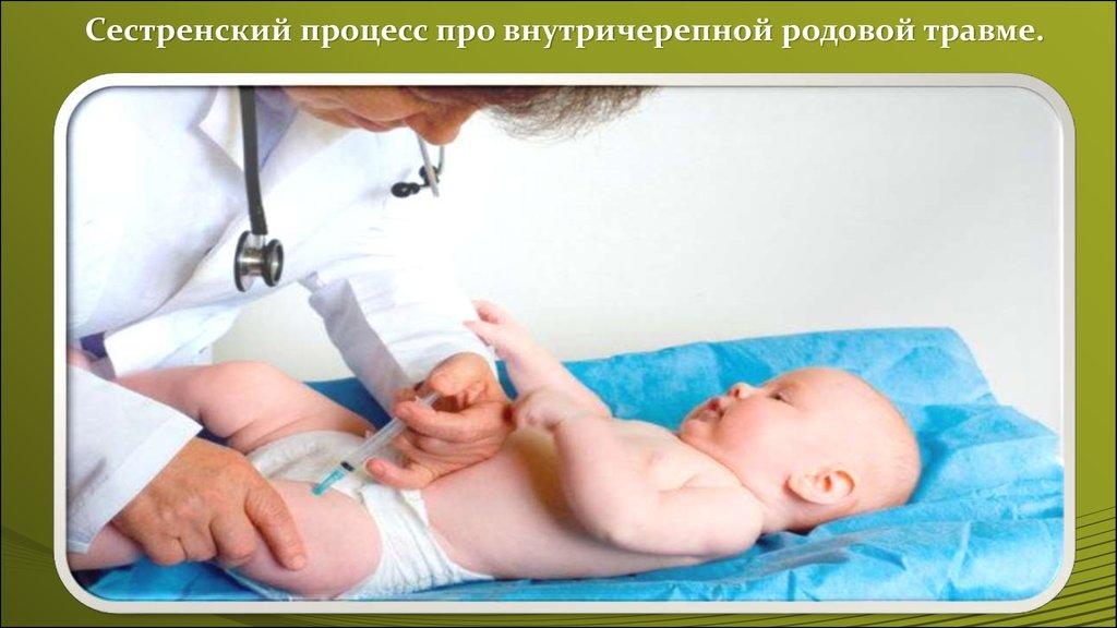 Родовые травмы уход и лечение