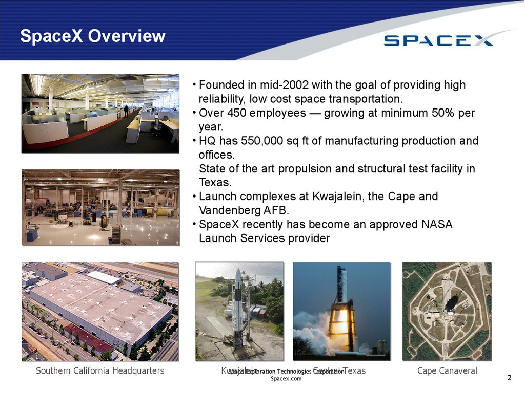 Commercial orbital transportation services (SpaceX ...