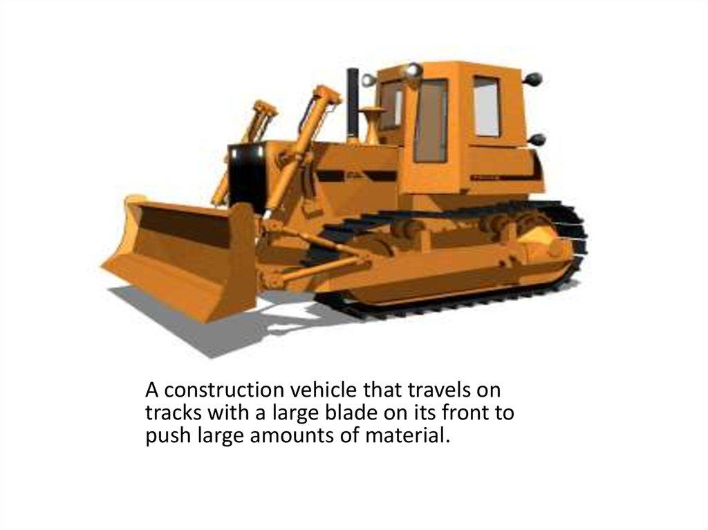 machine to flatten dirt