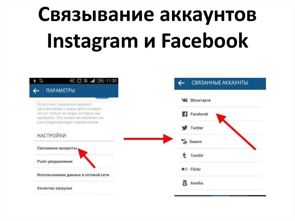 Instagram все связано
