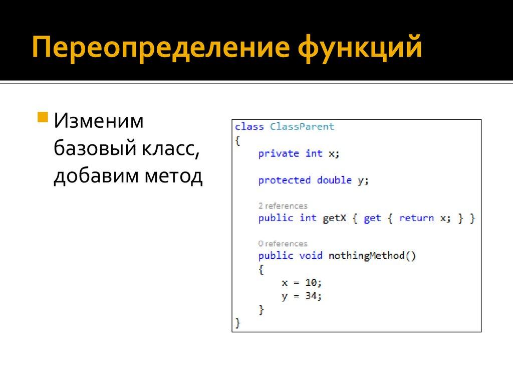 Переопределение методов objective c