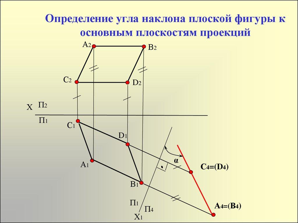 Начертательная геометрия. Теория.