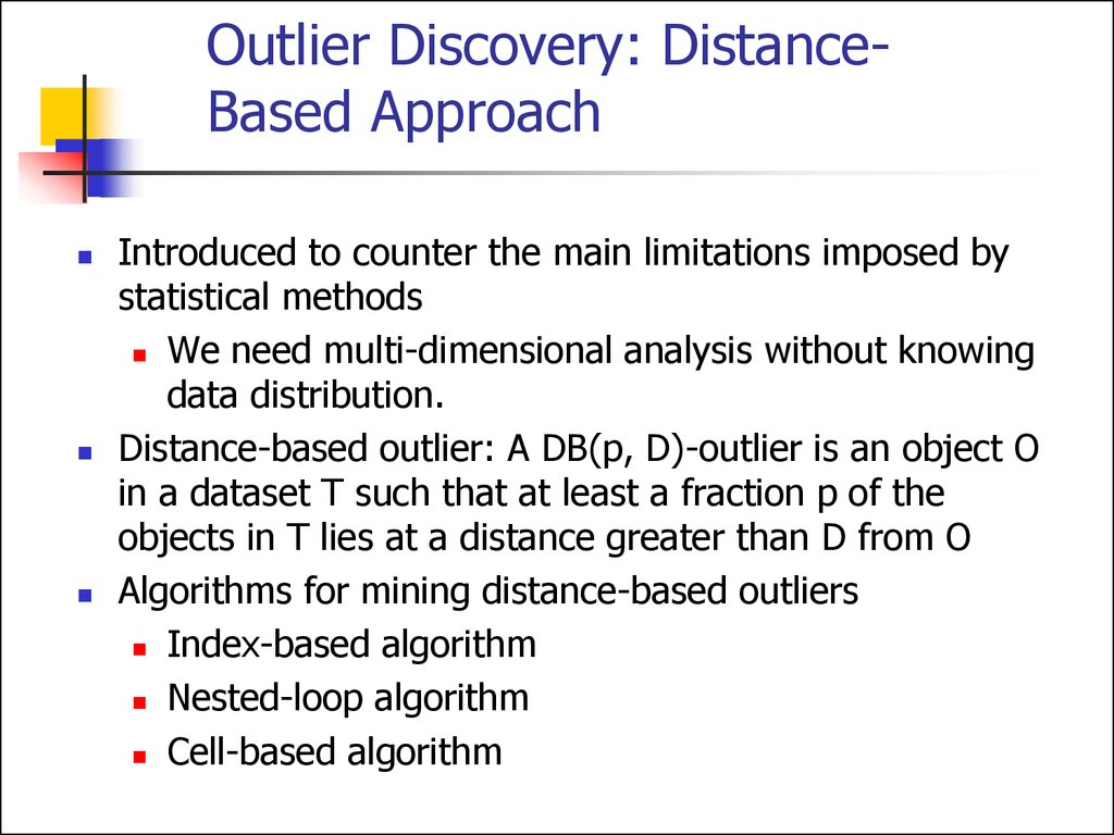 What Is Outlier Discovery?