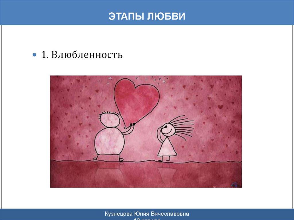 Как сделать этапы любви