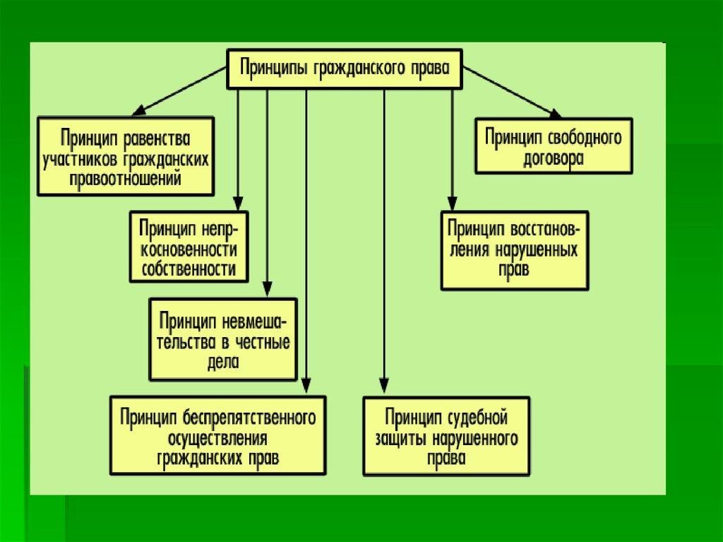 Принципы гражданского права реферат Основные принципы гражданского права реферат