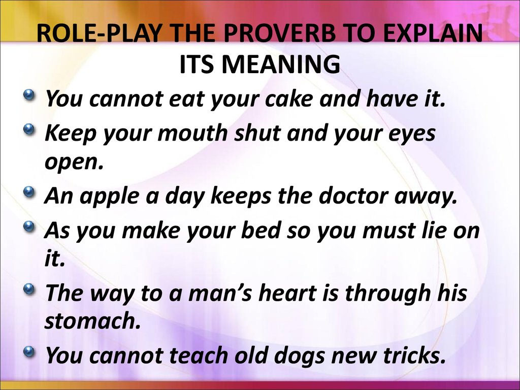 english proverb English proverbs & sayings alphabetical list - a (page 1 : a bad excuse → a hungry wolf) a bad excuse is better than none always give an excuse, even if it's a.