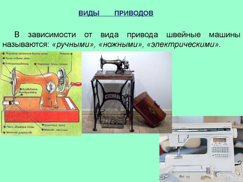 История возникновения швейной машинки реферат 7639
