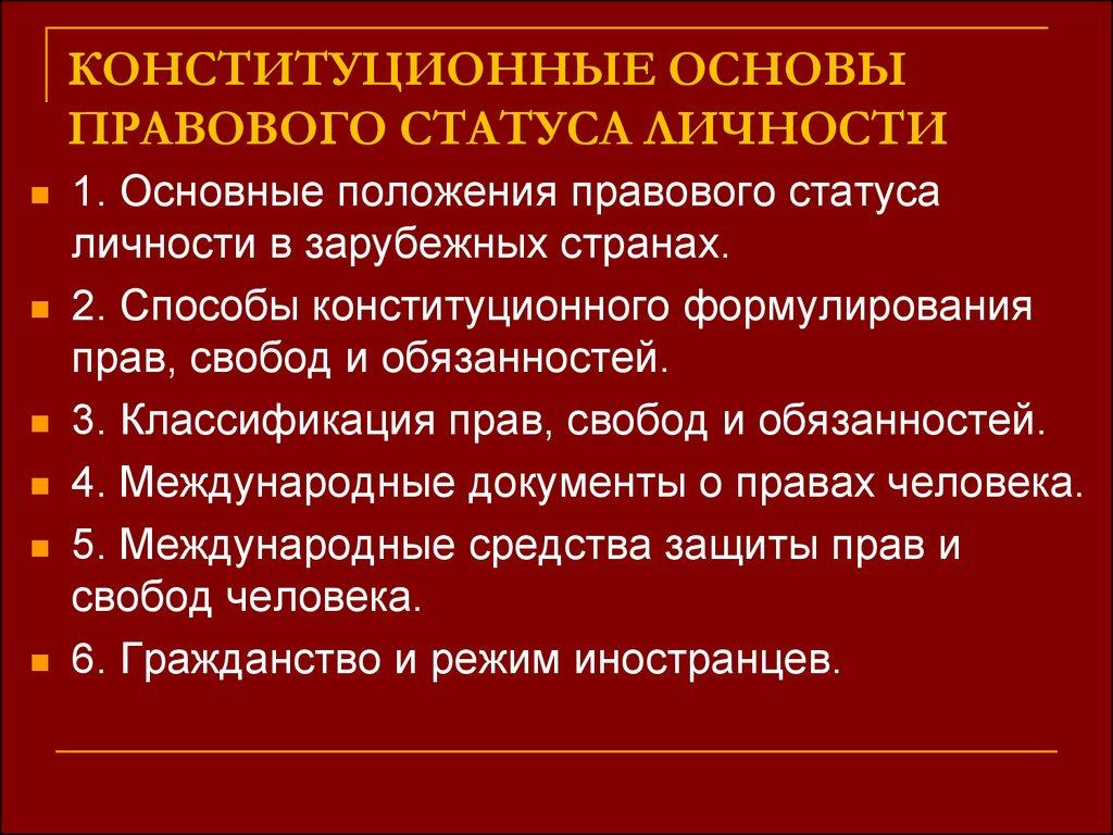 конституционные обязанности граждан рф курсовая