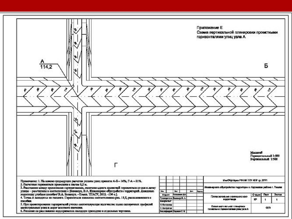 схема планировки участка томск