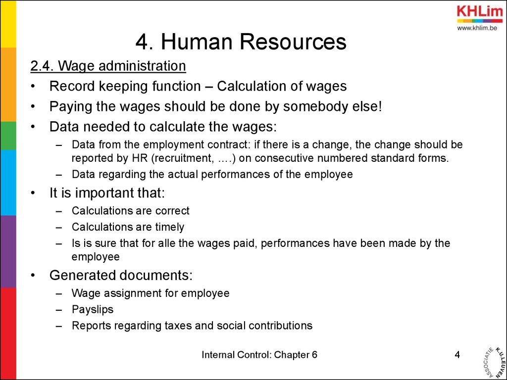human resources and management control on Advertisements: the four methods used to control the costs of human resources are as follows: 1 management by objectives (mbo) 2 ratio analysis 3 personnel.