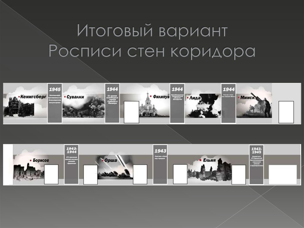 Дизайн кабинета истории