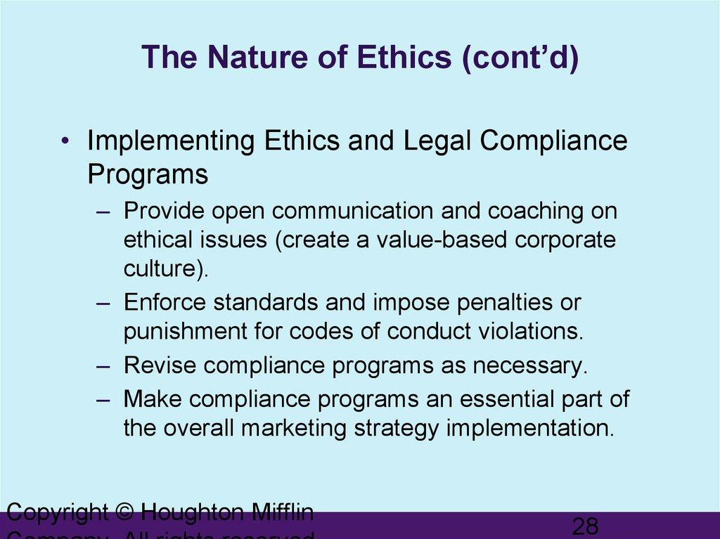 ethics in e marketing