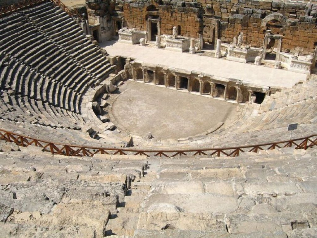 an introduction to the history of theatre in greece This series is the only surviving example of a trilogy in greek drama, and took first   introduction to greek mythology in all its violent and sexually-charged glory.