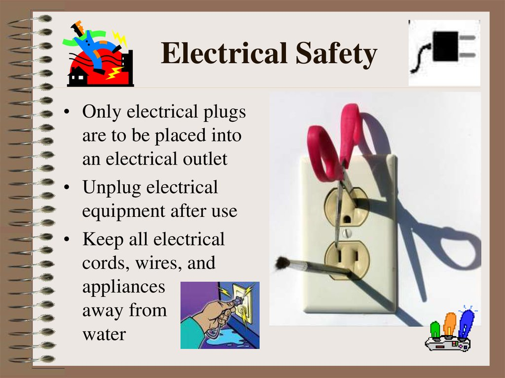 Slide on basic electrical symbols