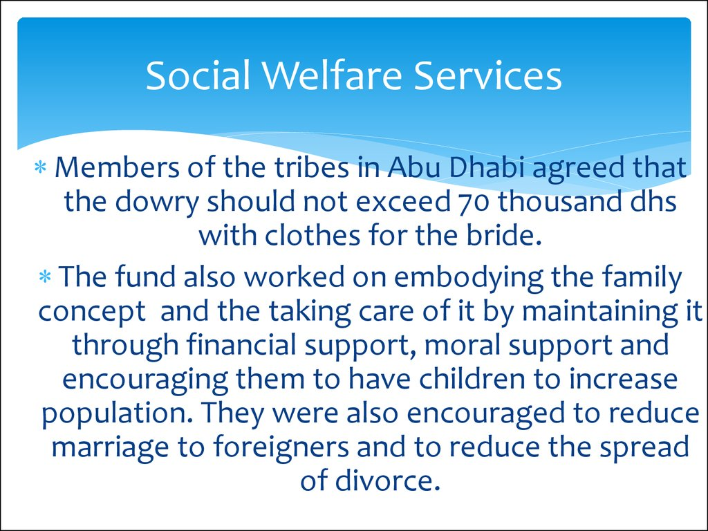 social welfare and social development assignment Community welfare centers are among the most dynamic social institutions worldwide through their commitment to locality-based intervention, they keep people at the center of development.
