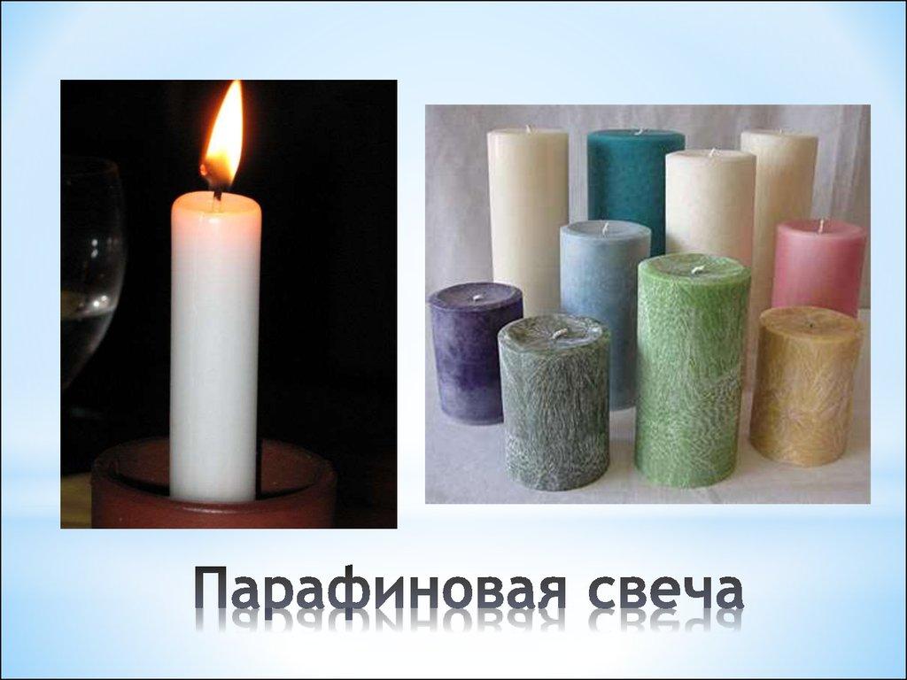 Как сделать свечи с парафина