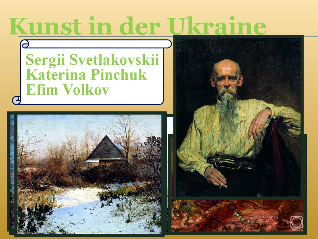 Kunst in der Ukraine