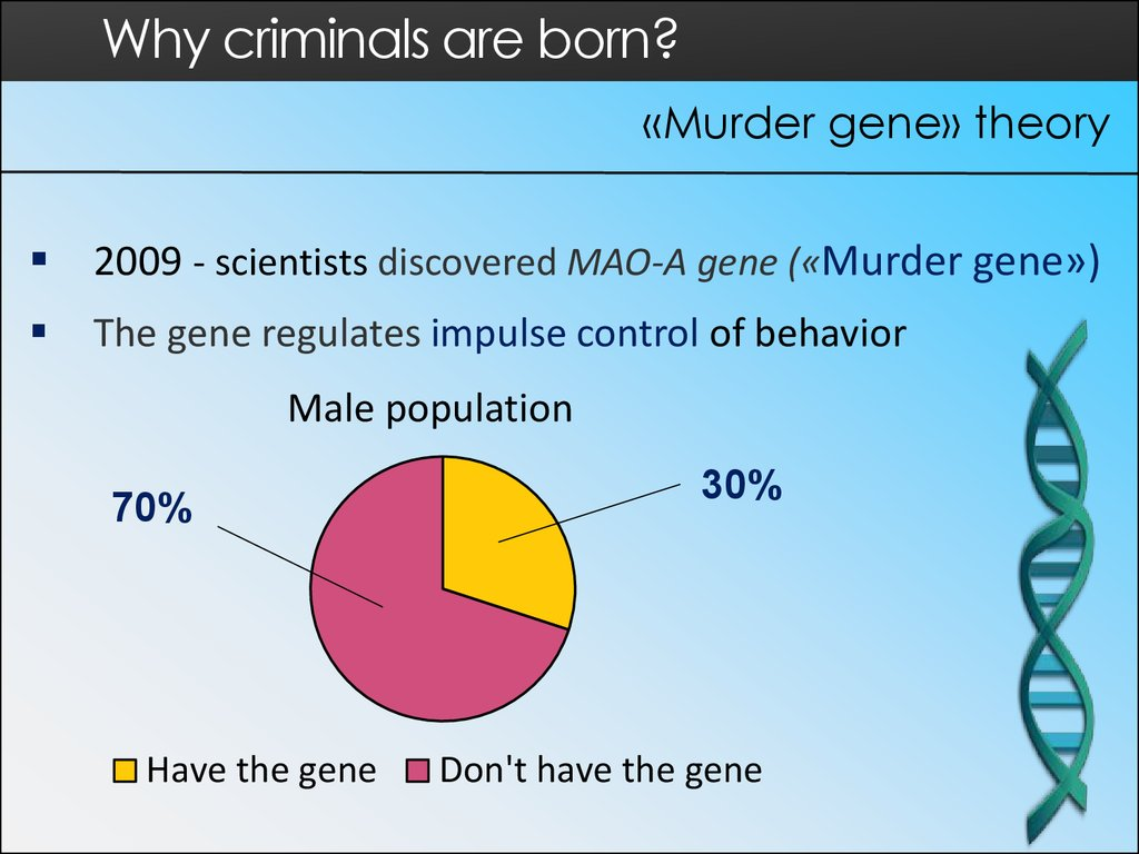 are criminals born or made essay Are criminals born or made essay by lenny212, university, bachelor's, b-, march 2009 download word file, 8 pages, 50 downloaded 85 times keywords japan, crime.