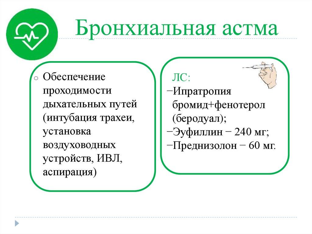 стандарты мед помощи бронхиальная астма