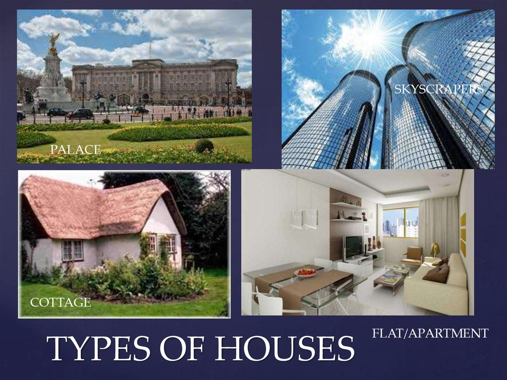 Types of houses for Kinds of houses