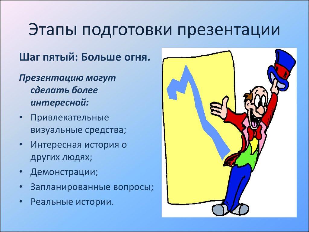 Как сделать и провести презентацию 310