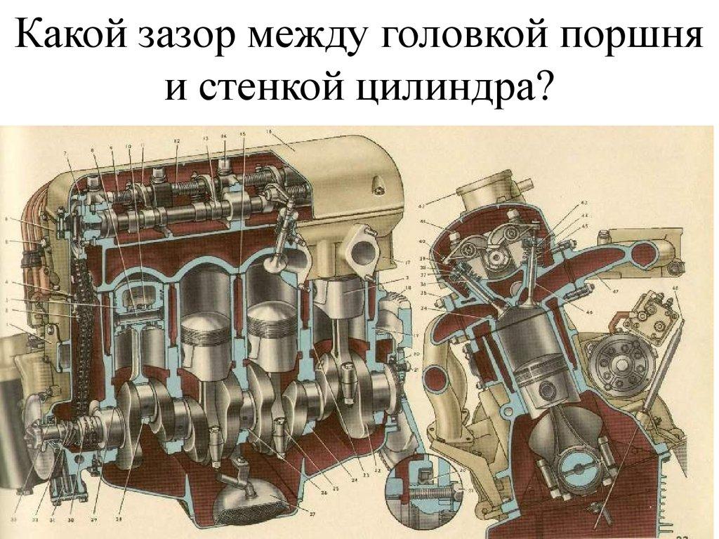 Ремонт двигателя м 412