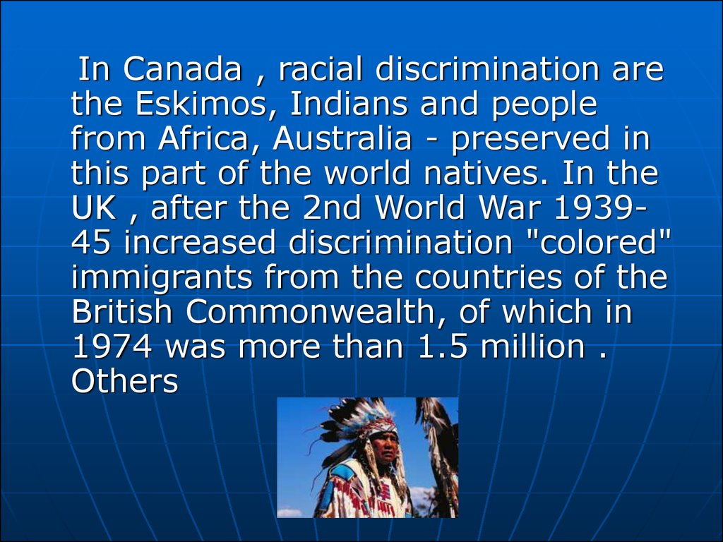 discrimination essay racial Racism is a clear reality in our society that affects all people although it's often racism continues to shatter and destroy lives american remains burdened by a racial chasm (race in america n pag) racial discrimination is an ongoing human judgment that us citizens can't really stop.