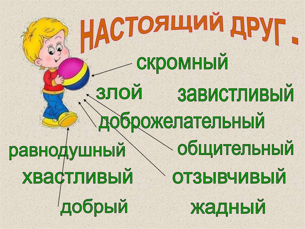Презентация На Тему Правила Дружбы Для 1 Класса