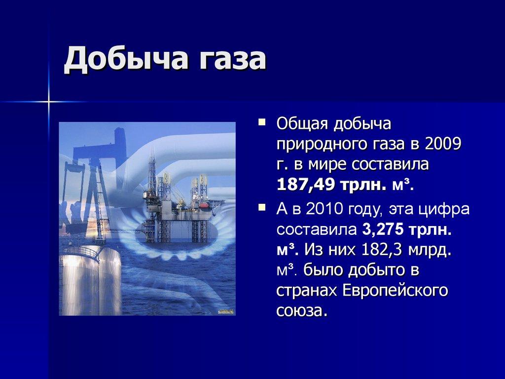 Газовая Промышленность Мира Презентация Скачать