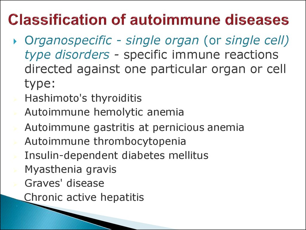 Diseases Of Immune System
