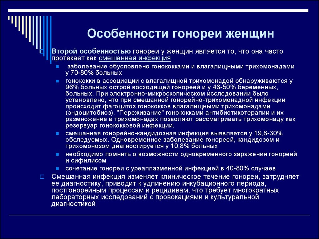 Гонорея - online presentation
