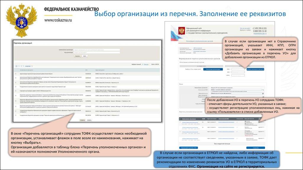 какой орган осуществляет выгрузуку инфы на bus.gov.ru