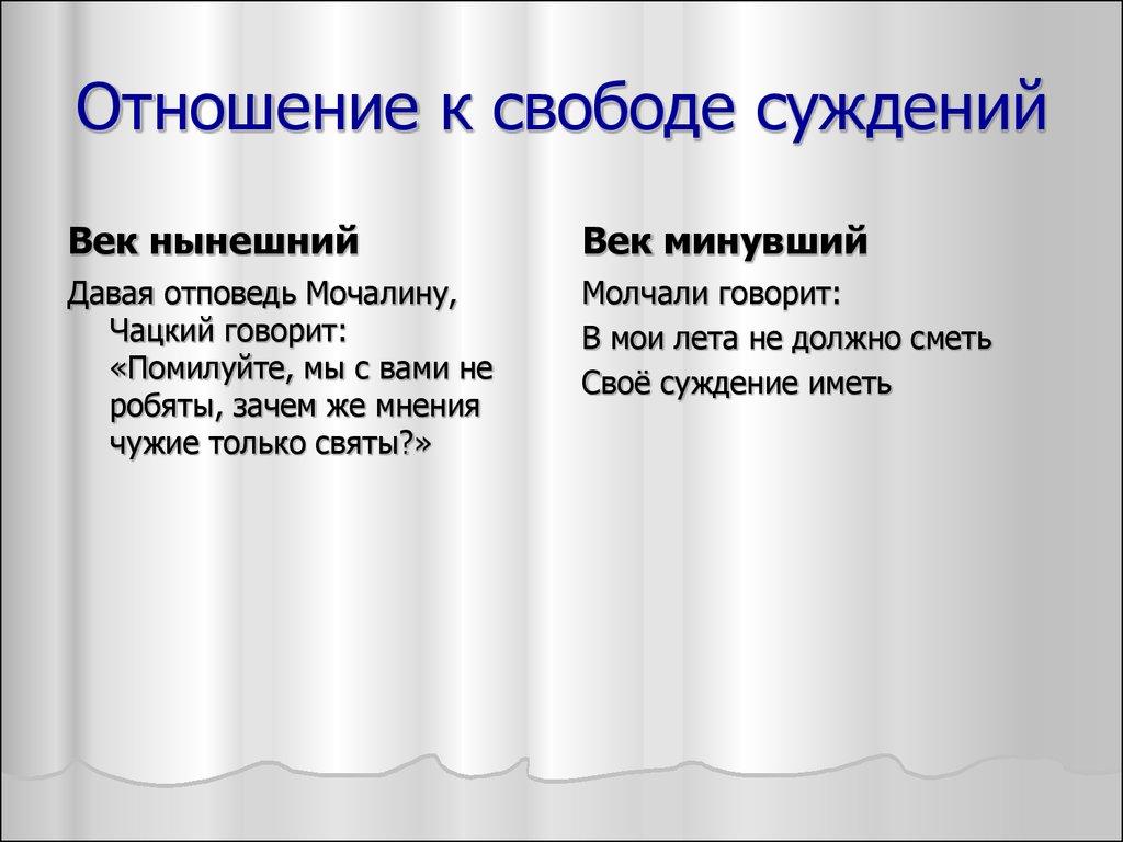 Сравнение фамусовского общества и чацкого цитаты 399