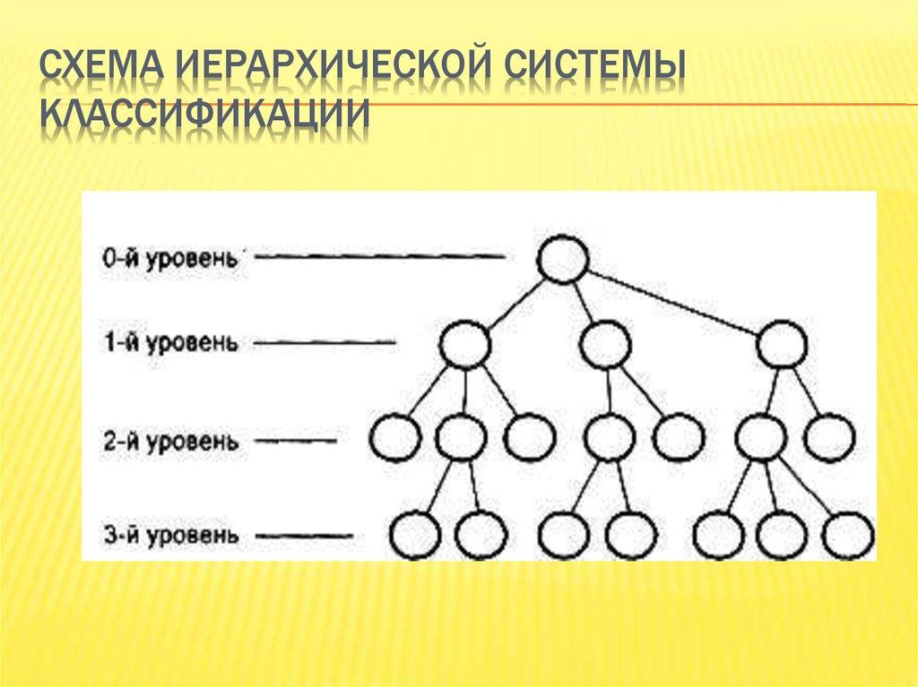 иерархической схемы