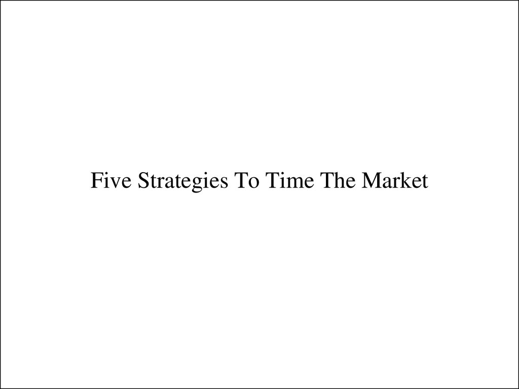 Short term trading strategies larry connors