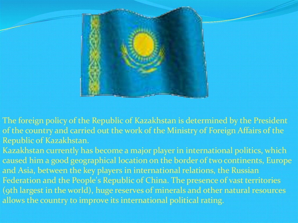 analyze kazakhstan chinese relations from a realist How russia sees the world: domestic foreign policy debates henry r nau and kazakhstan this was putin's idea of thought within russia about russias ' external relations • realist: yes, but the most influential school of thought.