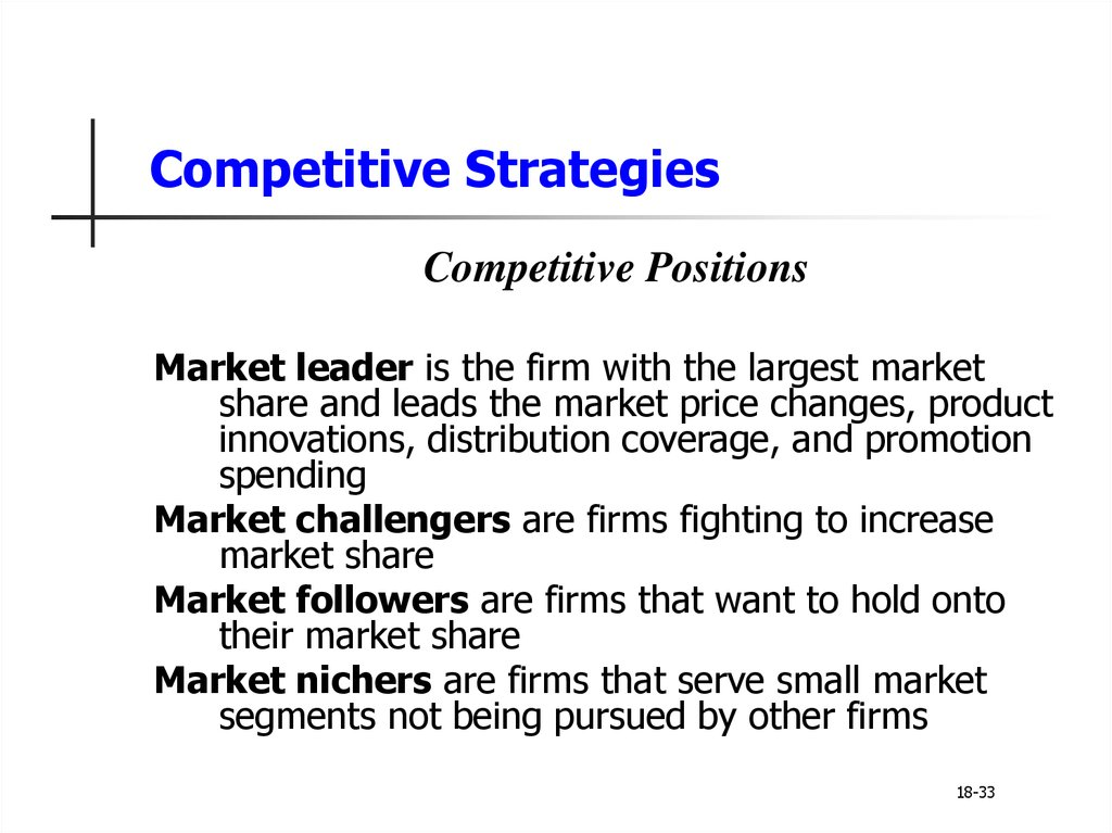 discuss the need to understand competitors as well as customers through competitor analysis Discuss the need to understand competitors as well as customers through competitor analysis 2 explain the fundamentals of competitive marketing strategies based on creating value for customers 3.