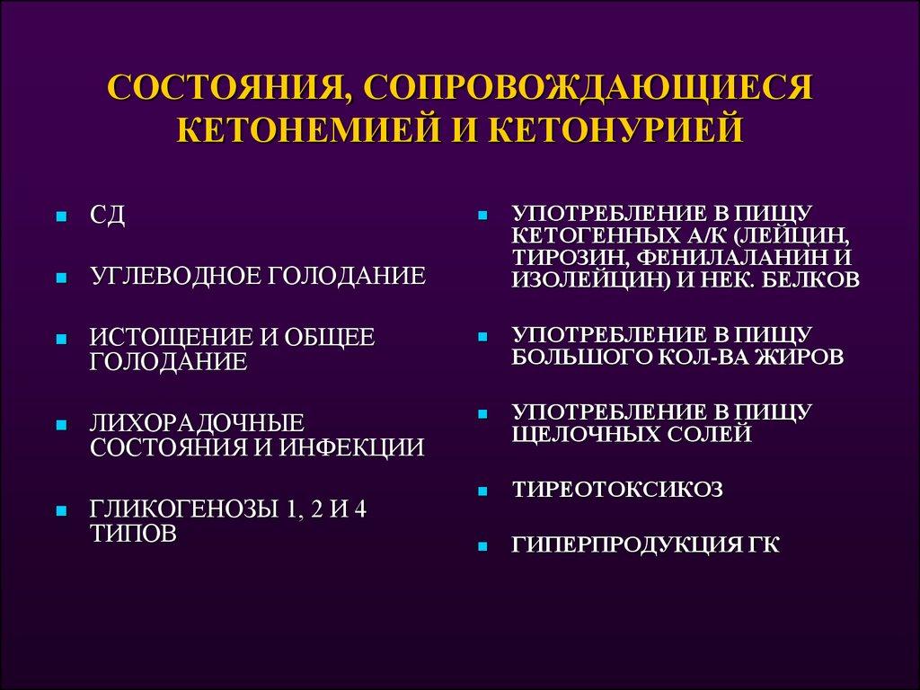 Кетонемия