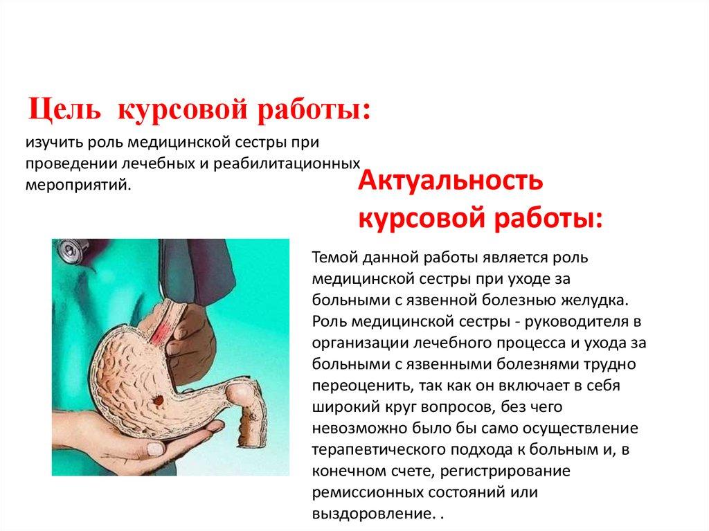 Протокол лечения гастрита желудка