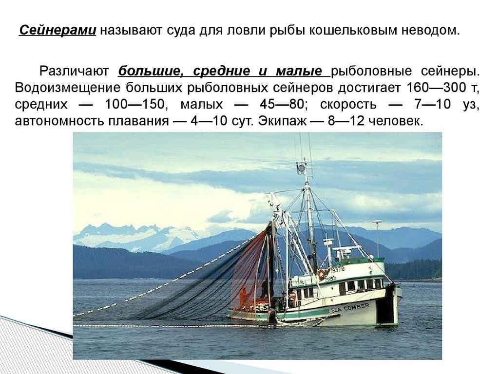 рыболовное судно понятие
