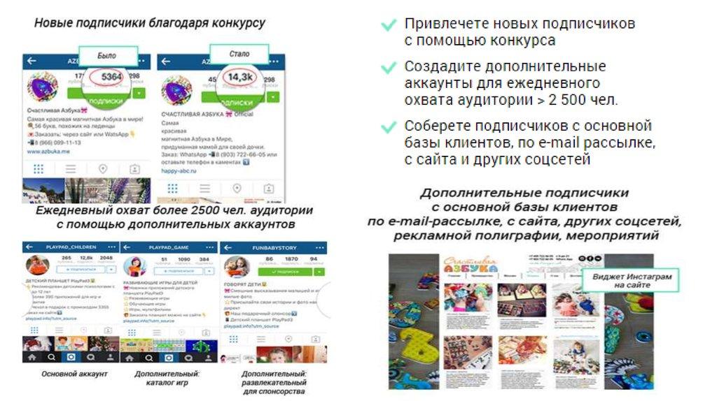 продвижение и заработок в instagram