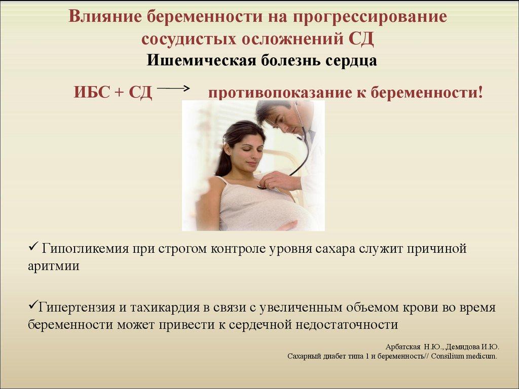 История болезни беременной с сахарным диабетом