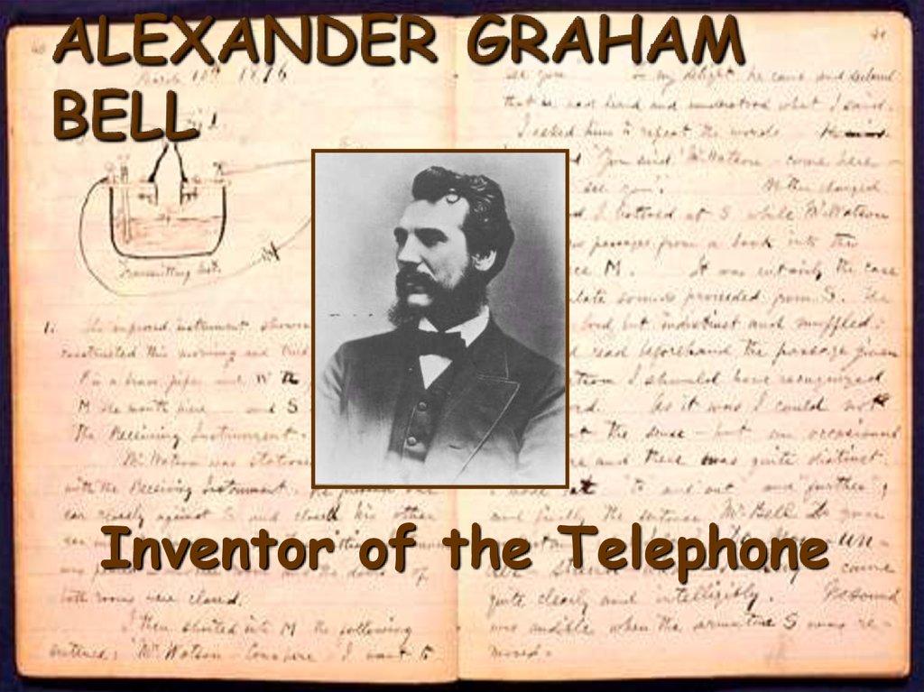 alexander graham bell inventor of the telephone. Black Bedroom Furniture Sets. Home Design Ideas