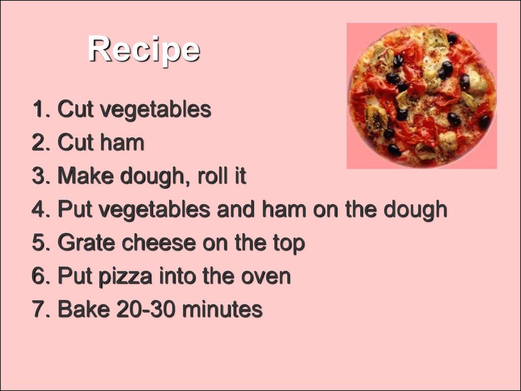 My Favorite Dish презентация онлайн