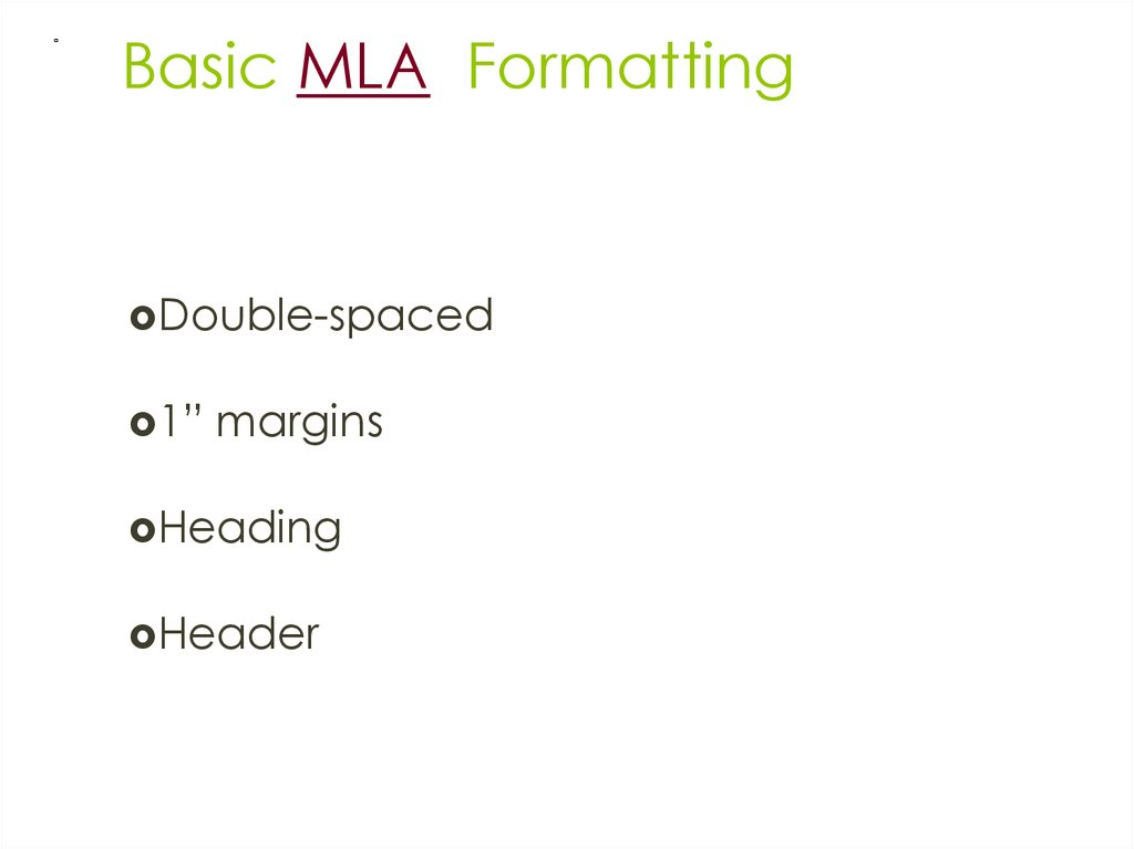 proper mla essay formatting The mla essay citation method uses a two-part system in the documentation and referencing of sources used in the text the first part is the citation given in the text of the paper, and the second is given alphabetically about all the referenced works at the end of the paper.
