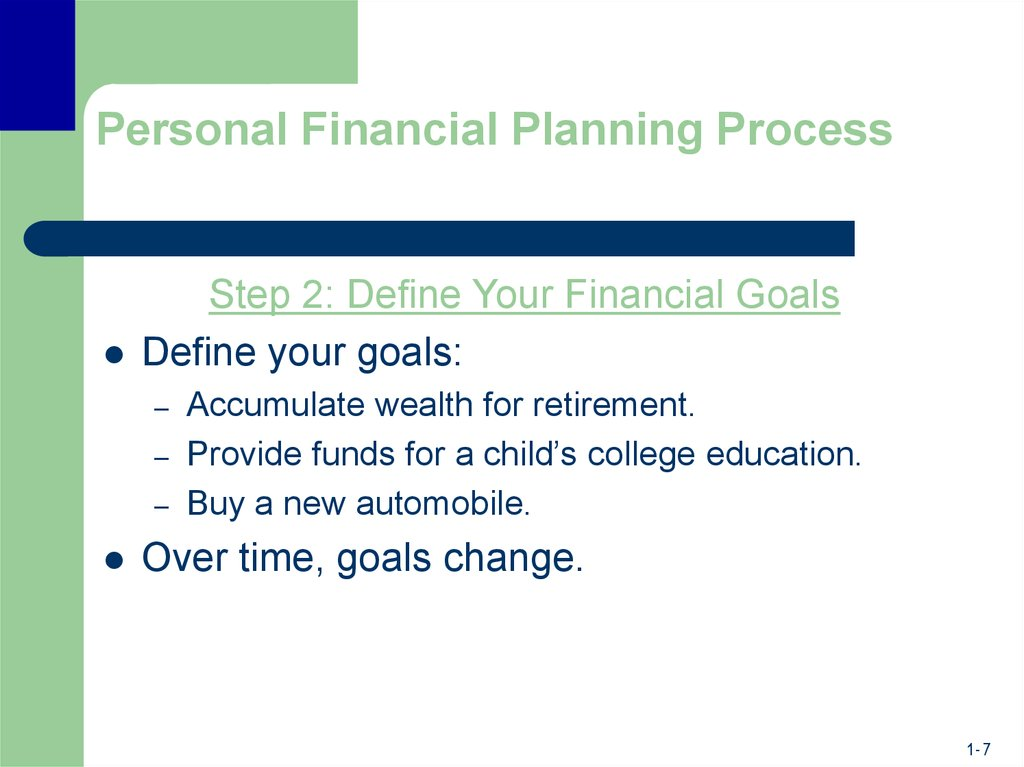 financial planning  the ties that bind
