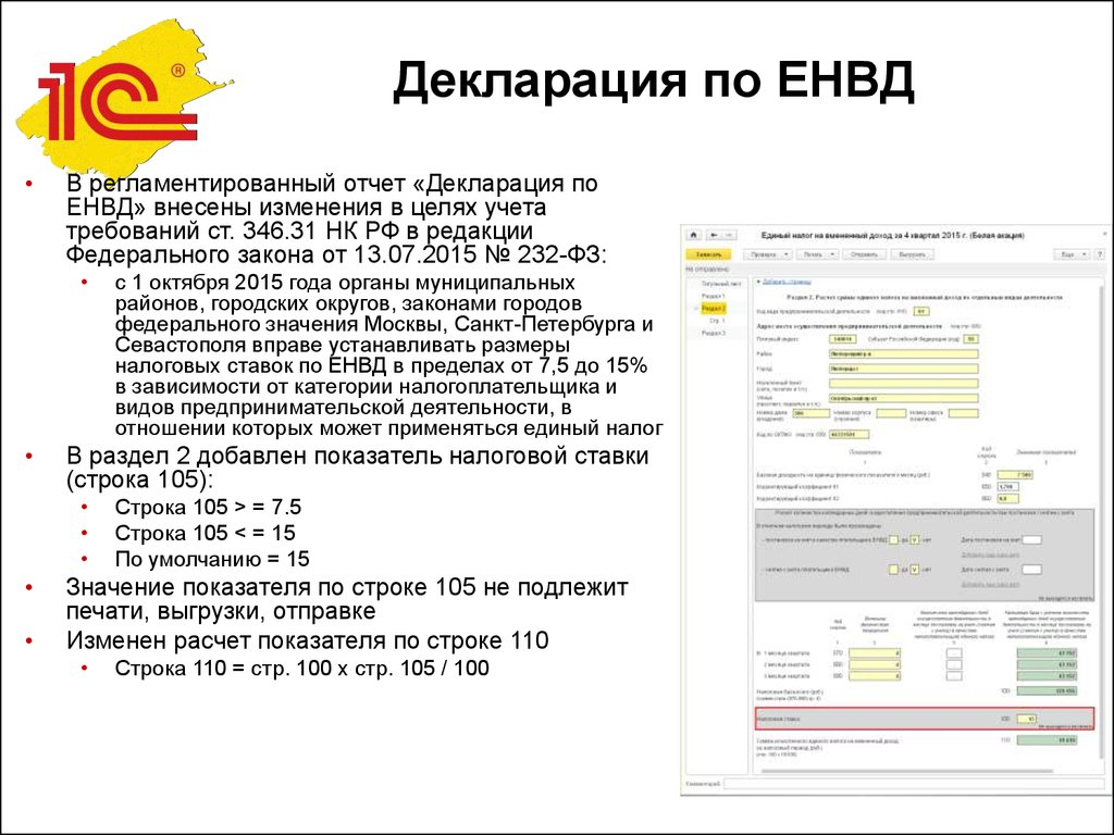 декларация енвд с изм.от 14.11.2013 бланк - peterpokrovsky.ru